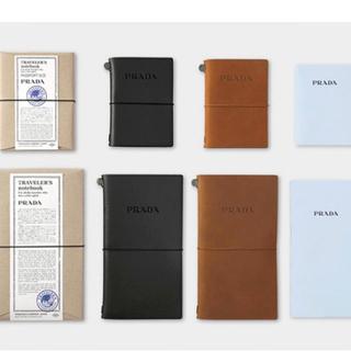 プラダ(PRADA)の【限定値下げ】PRADA♡トラベラーズノートパスポートサイズ(ノート/メモ帳/ふせん)