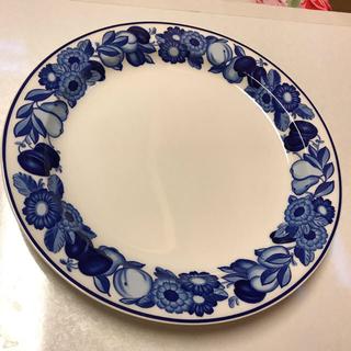 ROYAL COPENHAGEN - 【ロイヤル コペンハーゲン】 ゴールデンサマー ブルー  大皿 26.5センチ