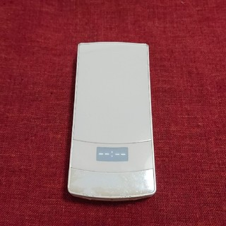 エヌティティドコモ(NTTdocomo)のドコモ STYLE series N-01B ティアラホワイト ガラケー本体(携帯電話本体)