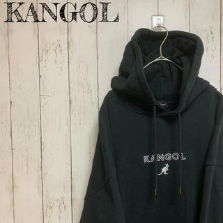 KANGOL - ビッグサイズ カンゴール スウェット パーカー ロゴ 刺繍