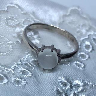 天然石リングSILVER925 シルバー925 指輪ムーンストーン(リング(指輪))