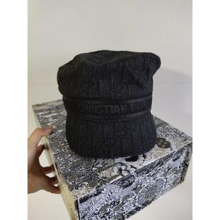ディオール(Dior)のフランス買付けDIOR☆ブラック キャスケット(キャップ)