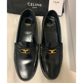 セリーヌ(celine)のCELINE ルコ トリオンフローファー 36 サイズ(ローファー/革靴)