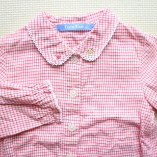 familiar - ファミリア80cm長袖シャツ