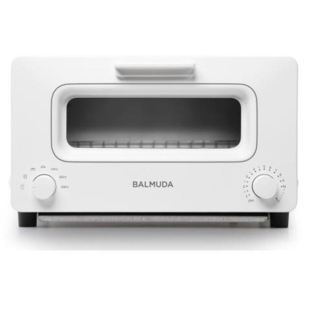 BALMUDA(バルミューダ)の新品未開封 バルミューダ ザ・ トースター K01E ホワイト スマホ/家電/カメラの調理家電(調理機器)の商品写真