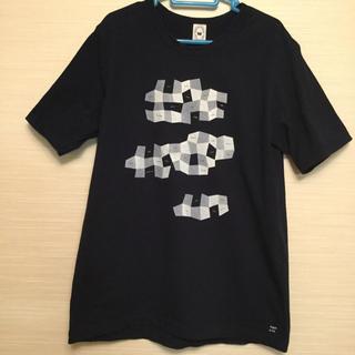 ミナペルホネン(mina perhonen)のミナペルホネン スカイツリー 紺色 Tシャツ Lサイズ 限定(Tシャツ/カットソー(半袖/袖なし))
