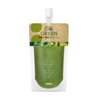 キリン(キリン)の【送料無料】キリン スムージー KIRIN The GREEN ×10袋(ソフトドリンク)