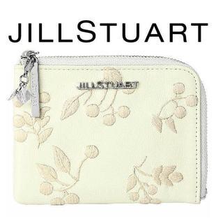ジルスチュアート(JILLSTUART)の【送料込】ジルスチュアート ガーデン パスケース一体型カードケース 新品 (名刺入れ/定期入れ)