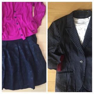 COMME CA DU MODE - 【2着セット】ブランドジャケット&スカート K.T KIYOKO TAKASE