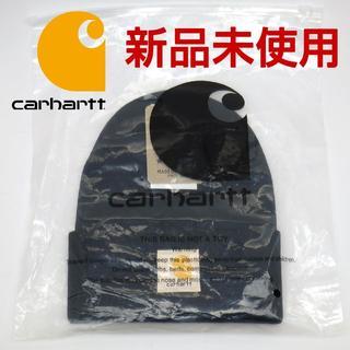 カーハート(carhartt)のカーハート ニット帽 ニットキャップ carhartt ブラック 黒 メンズ(ニット帽/ビーニー)