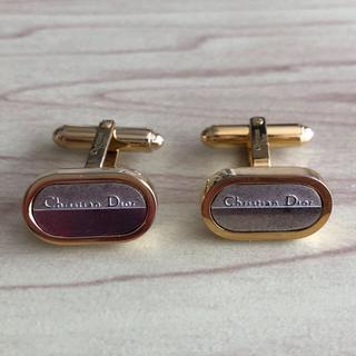 クリスチャンディオール(Christian Dior)の【最終価格】クリスチャンディオール カフスボタン カフリンクス(カフリンクス)