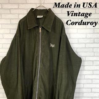 アメリヴィンテージ(Ameri VINTAGE)の<Made in USA> 刺繍タグ コーデュロイシャツ ジャケット(シャツ)