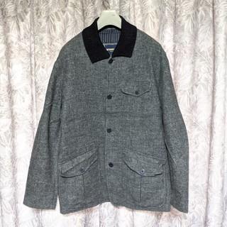 ANTONIO MIROリブ襟ウールジャケット(ブルゾン)