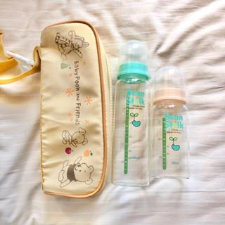 オオツカセイヤク(大塚製薬)のBean Stalk 哺乳瓶2本セット★おまけ付き(哺乳ビン)