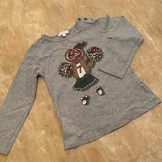 グッチ(Gucci)のGUCCI  グッチ 女の子 ロンT  カットソー (Tシャツ)
