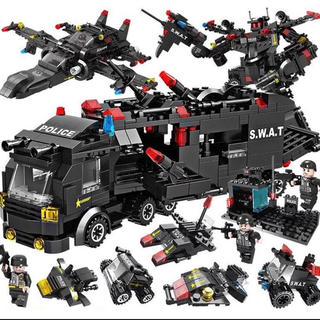 LEGO 互換 ミリタリーSWAT (積み木/ブロック)