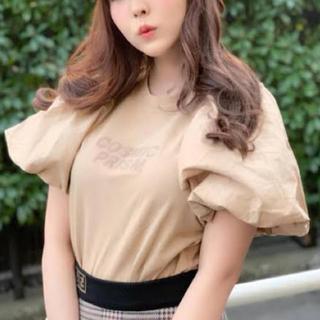 リリーブラウン(Lily Brown)のリリーブラウン ボリューム袖Tシャツ(Tシャツ(半袖/袖なし))