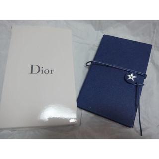 ディオール(Dior)の新品未使用 Dior  手帳ノートブック バースデーギフト(ノート/メモ帳/ふせん)