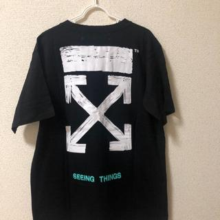 OFF-WHITE - OFF-WHITE メンズ Tシャツ