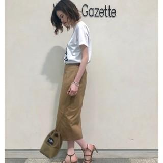 ドゥーズィエムクラス(DEUXIEME CLASSE)のwhim gazette 19SS ツイルタイトスカート36(ひざ丈スカート)