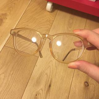マウジー(moussy)のMOUSSY マウジー サングラス だてメガネ オシャレ 透け 美品(サングラス/メガネ)