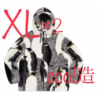 シュプリーム(Supreme)のsupreme Penguins Hooded Fleece Jacket×2(ブルゾン)
