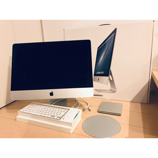 Apple - フルセット 極美品 iMac 21.5インチ Late2012 MD093J/A