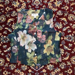ジョンローレンスサリバン(JOHN LAWRENCE SULLIVAN)のUSA VINTAGE see-through flower vest(ベスト)