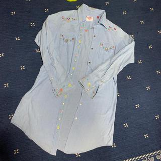 ハリウッドランチマーケット(HOLLYWOOD RANCH MARKET)のHRM ロングシャツ (カットソー(長袖/七分))