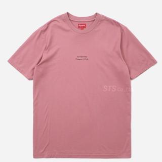 シュプリーム(Supreme)のsupreme qualite tee mauve シュプリーム  xl ピンク(Tシャツ/カットソー(半袖/袖なし))