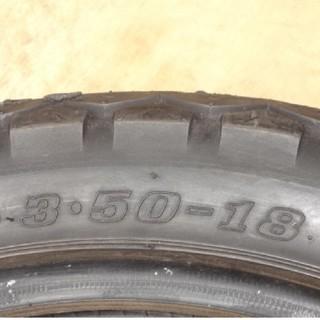 ダンロップ(DUNLOP)のダンロップ tt100gp 18 3.50(タイヤ)