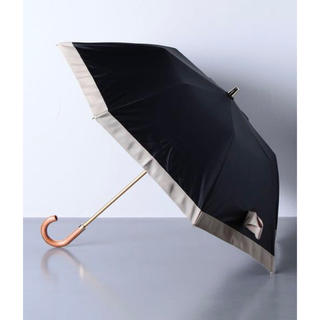 バーニーズニューヨーク(BARNEYS NEW YORK)のAthena New York グログランリボン 晴雨兼用 折り畳み傘(傘)