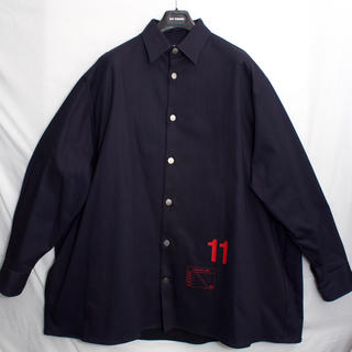 ラフシモンズ(RAF SIMONS)の[美品] ラフシモンズ オーバーサイズ デニム シャツ 18AW ビッグサイズ(シャツ)