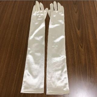 タカミ(TAKAMI)のウェディングロンググローブ Sサイズ 美品 タカミブライダル(ウェディングドレス)