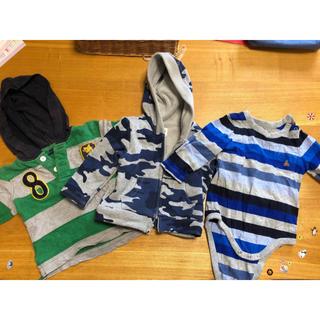 ギャップ(GAP)のGAP Baby&kids 洋服3点(パンツ)