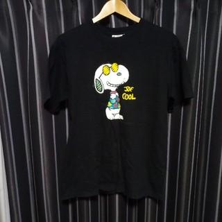 スヌーピー(SNOOPY)のスヌーピー SNOOPY カラープリント Tシャツ ピーナッツ (Tシャツ/カットソー(半袖/袖なし))
