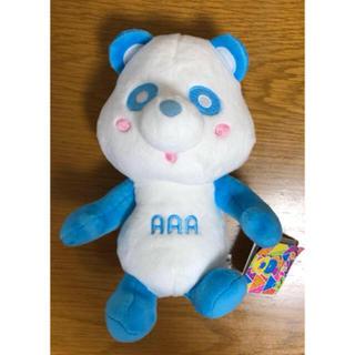 トリプルエー(AAA)のAAA え~パンダ ぽーじんぐキメキメ ぬいぐるみ(ぬいぐるみ)