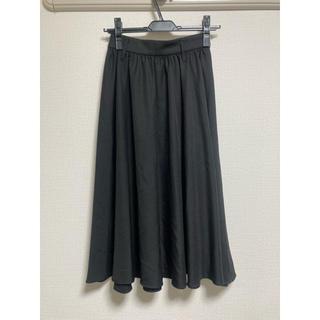 イング(INGNI)のINGNI スカート 黒(ひざ丈スカート)