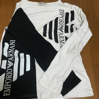 エンポリオアルマーニ(Emporio Armani)のアルマーニのロンT(Tシャツ/カットソー(七分/長袖))