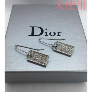 クリスチャンディオール(Christian Dior)の未使用 クリスチャンディオール Diorロゴピアス/スートン(ピアス)