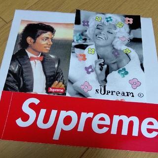 シュプリーム(Supreme)のSupreme Michael Jackson naomiステッカー(その他)