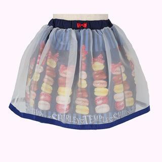 シャーリーテンプル(Shirley Temple)のマカロンptスカート ネイビー 120(スカート)