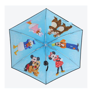 Disney - ディズニー 折りたたみ傘 実写