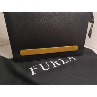 フルラ(Furla)の質屋出品k○m FURLA フルラ クラッチ セカンドバッグ 美品 保存袋付き(クラッチバッグ)