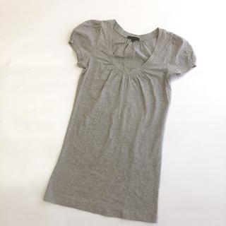 セオリー(theory)のTheory パフスリーブTシャツ チュニック 日本製(Tシャツ(半袖/袖なし))