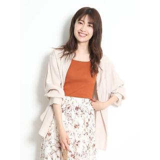 リランドチュール(Rirandture)の新品♡ナチュラルシャツジャケット♡ピンク(シャツ/ブラウス(長袖/七分))