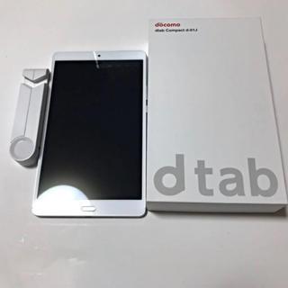 エヌティティドコモ(NTTdocomo)のdtab  compact d-01J(タブレット)