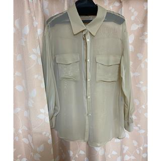 リランドチュール(Rirandture)の未使用 リランドチュール  シアーシャツ(シャツ/ブラウス(長袖/七分))