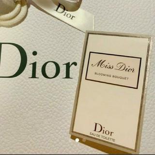 クリスチャンディオール(Christian Dior)のミスディオールブルーミングブーケ サンプル 1ml(その他)