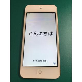 iPod touch - i pod touch 第6世代 ゴールド 32GB 本体のみ